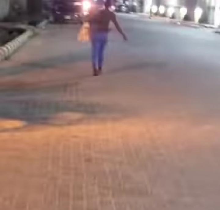OAP exposes a street beggar