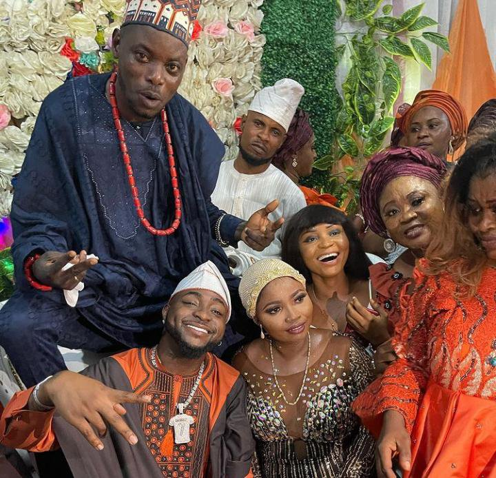Davido attends his driver's wedding