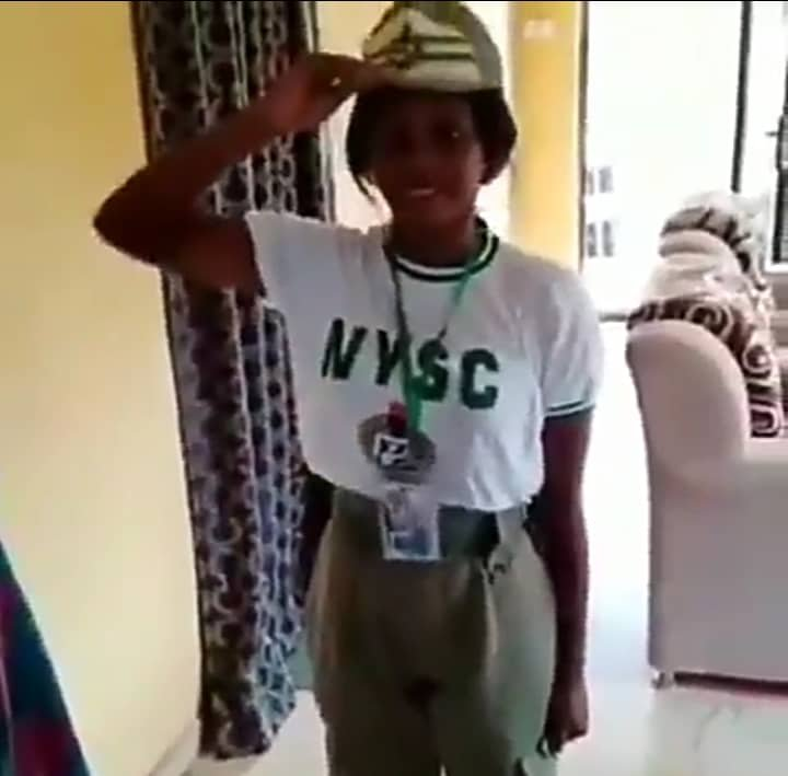 Lady gets job  upon return from NYSC