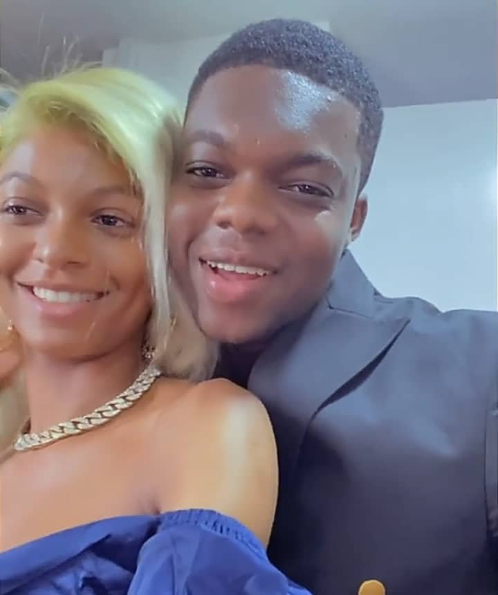 Cute Abiola And AdeHerself Engaged