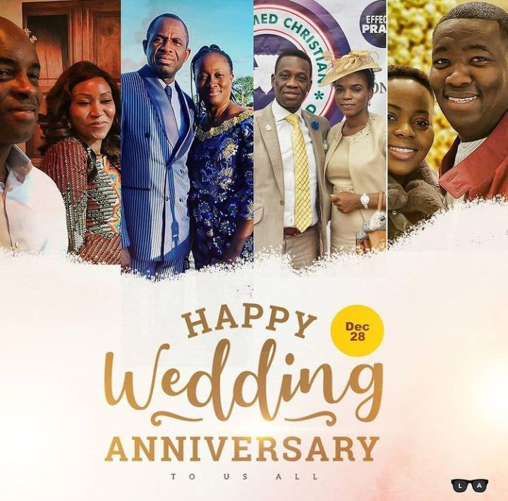 Adeboye's Children Wedding Anniversary