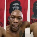 Seun Kuti reacts after being accused
