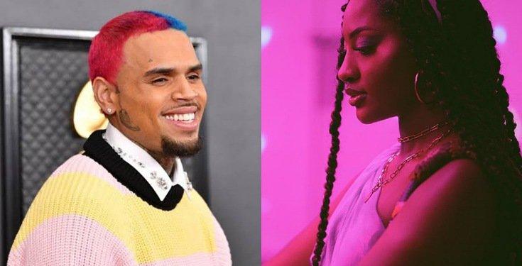 Chris Brown praises Tems