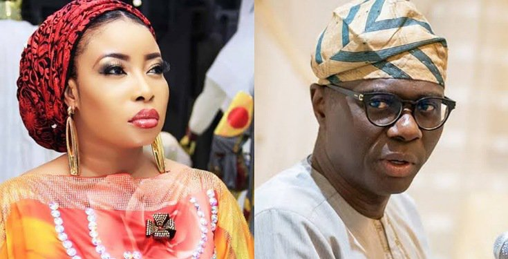 Lizzy Anjorin warns Sanwo-Olu