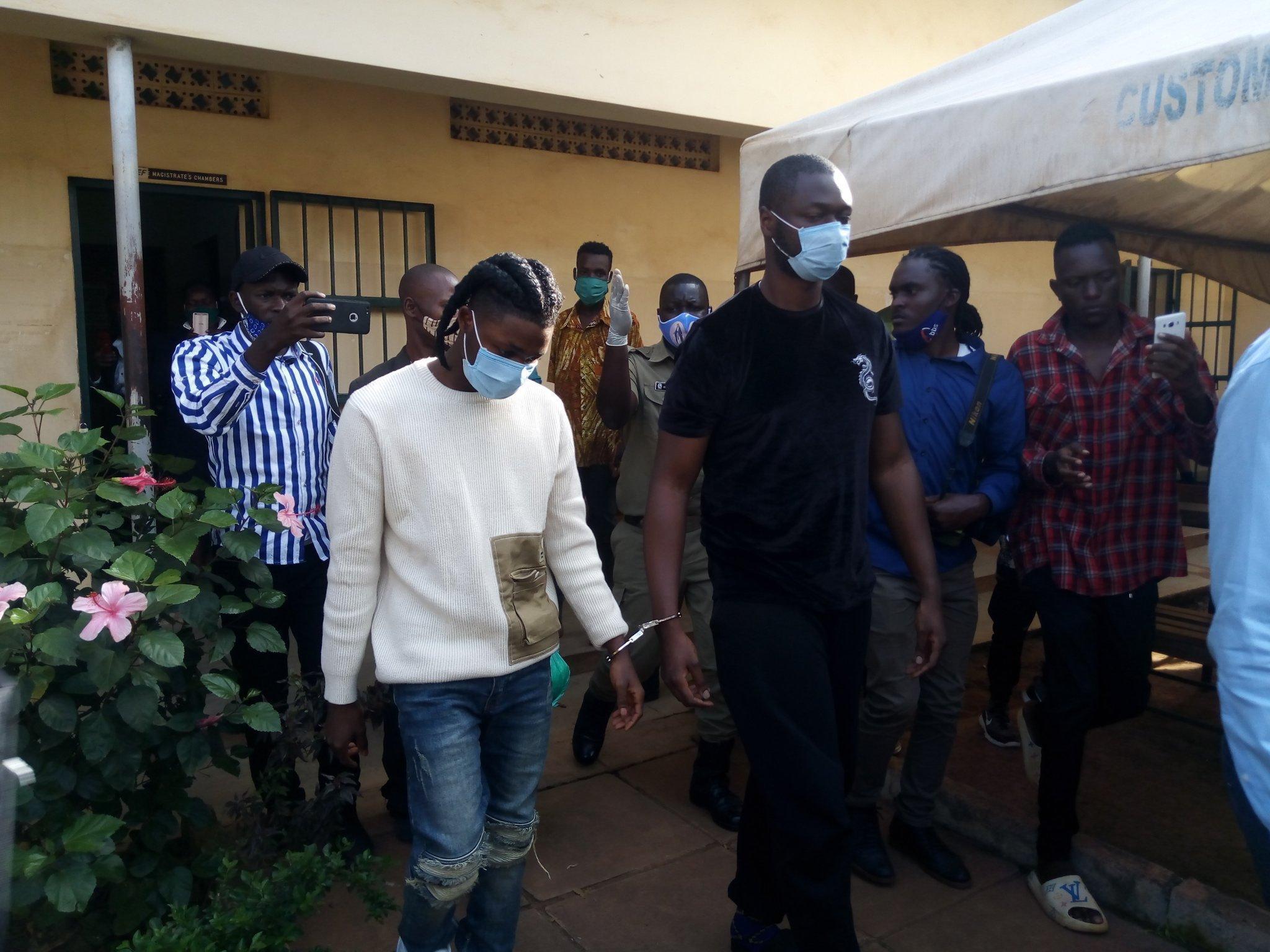 Omah Lay goes to prison in Uganda