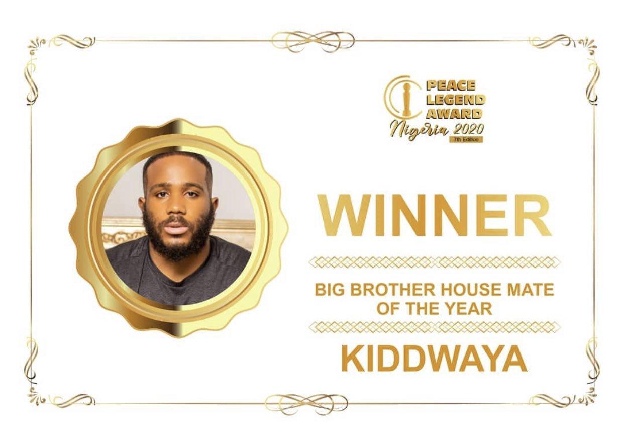 Kiddwaya - Housemate Of The Year Award
