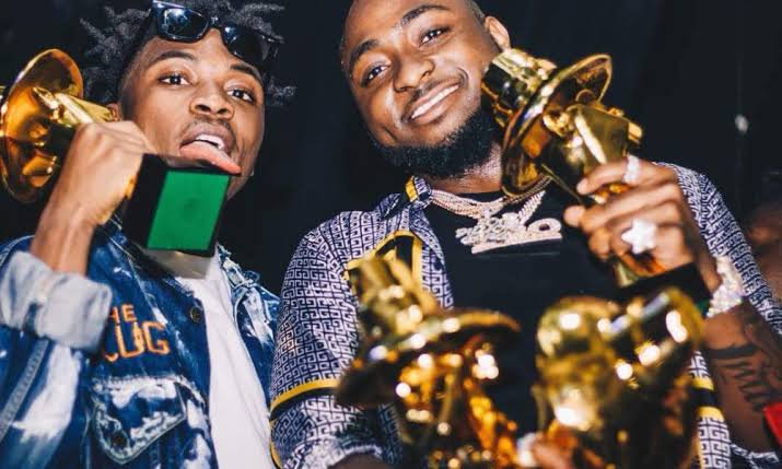 Mayorkun appears in same category with Davido
