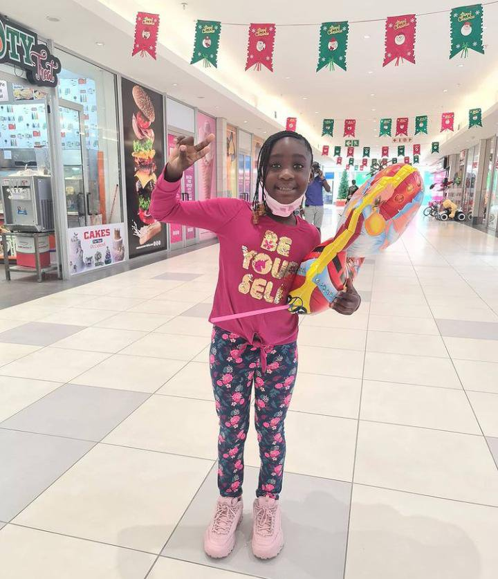 Mercy Johnson celebrate daughter Purity
