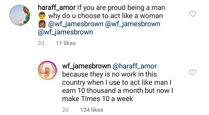 Why I became a cross-dresser - James Brown