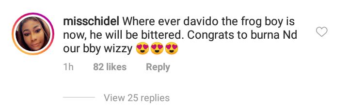 Davido mocked for not winning any award