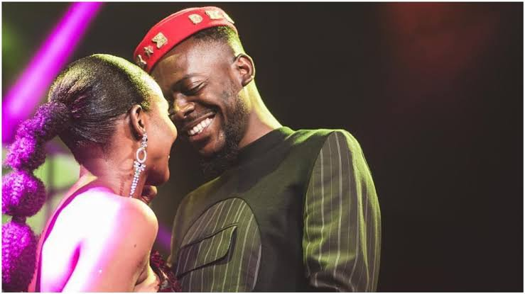 Video of Simi and a boy in bed