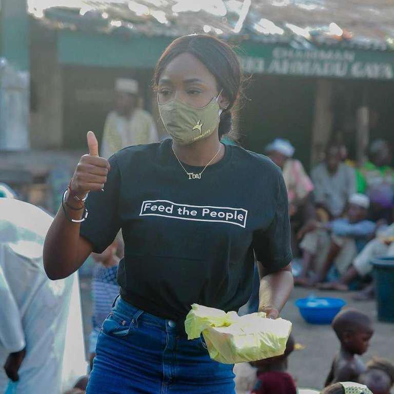 Tolanibaj feeds 350 less privileged
