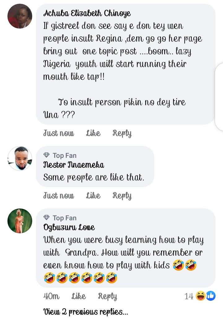"""""""I don't know how to play with babies"""" - Fans lambast Regina Daniels over comment"""