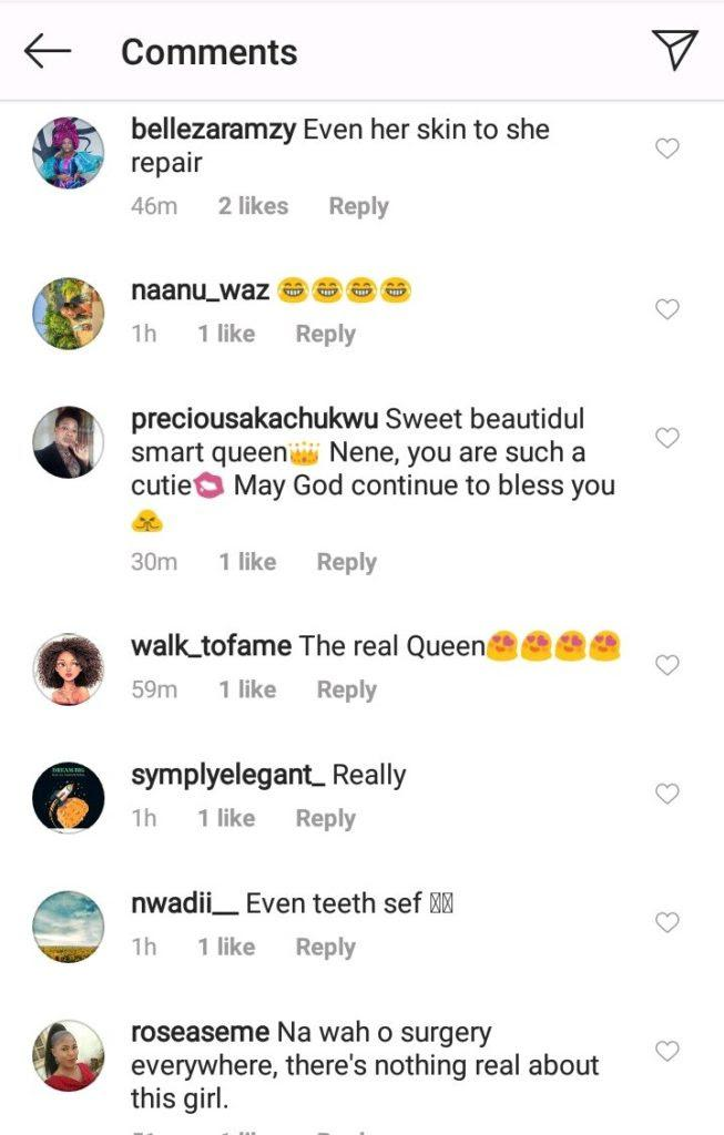 """Nothing is real about you"" - Fans drag Nengi as old photo confirms she did teeth surgery"