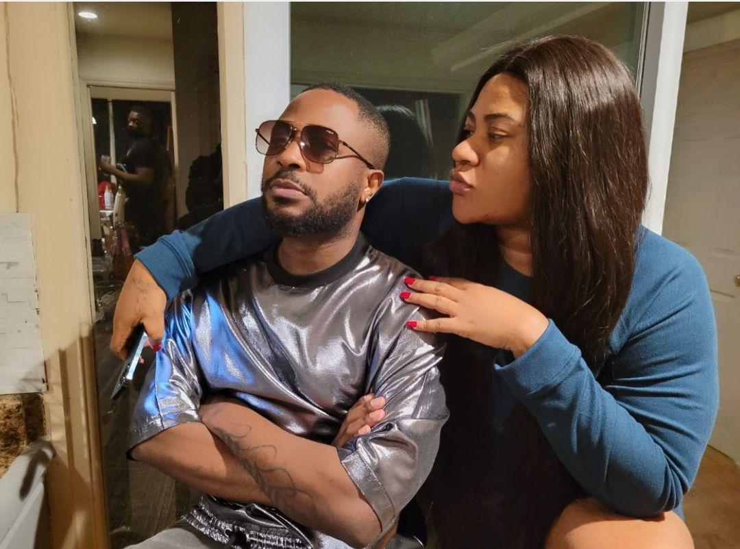Actress Nkechi Blessing celebrates Tunde Ednut on his birthday