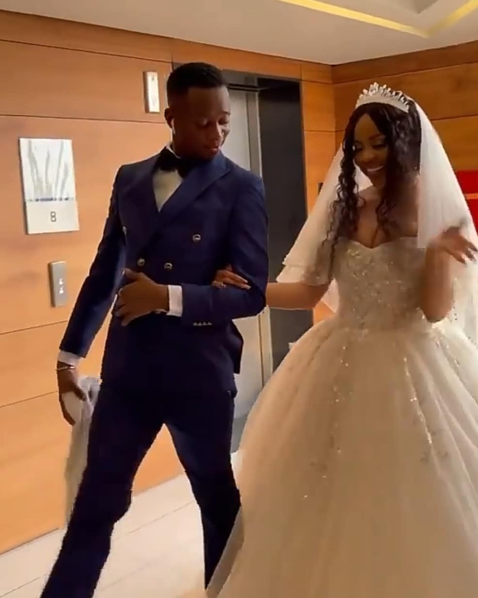Comedian Sydney Talker ties the knot with Nengi wedding