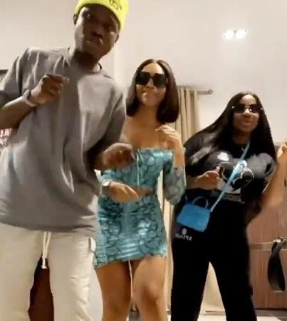 Singer Zlatan Ibile, Dorathy, Lilo show off dance moves during hangout (Video)