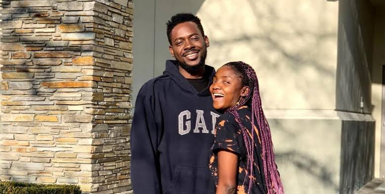 Simi Reacts As Adekunle Asks Her To Breastfeed Him
