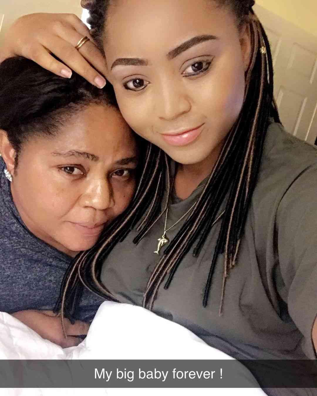Regina Daniels pens heartfelt note to mother, Rita Daniels on her birthday
