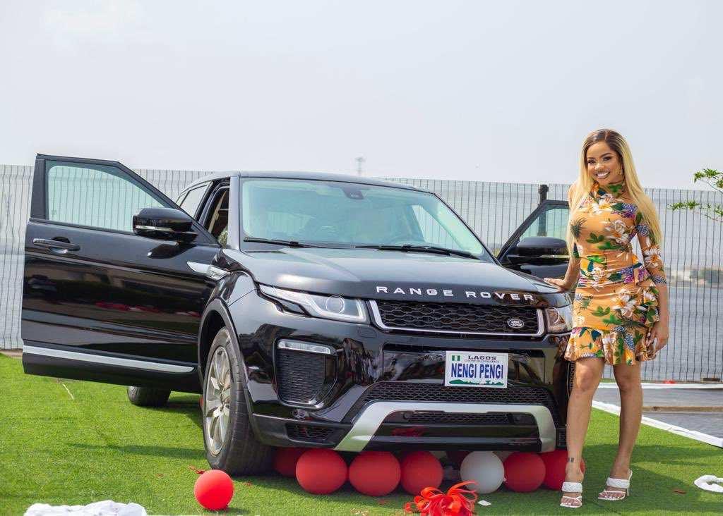 nengi range rover birthday gift