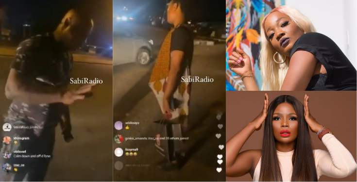 BBNaija's Lucy, Kaisha harassed by police officer in Lagos (Video)