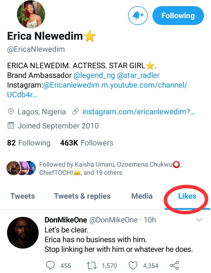 Erica admits that she has no business with Kiddwaya