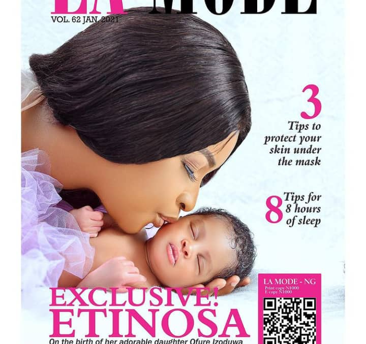 """A woman's happiest day"" – Etinosa"