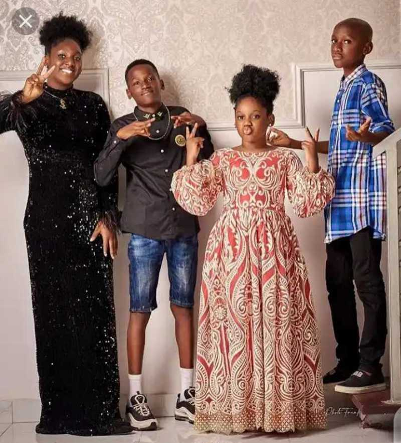 2face idibia's children dna resemblance