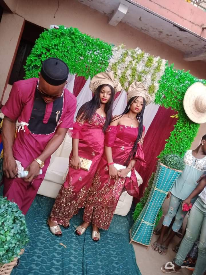 Twin sisters marry same man
