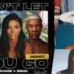 Burna Boy's girlfriend Stefflon Don features Rema, Tiwa Savage on new single