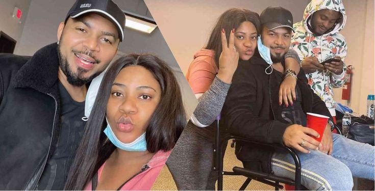 Actress Nkechi Blessing gushes over Ramsey Nouah on movie set in America