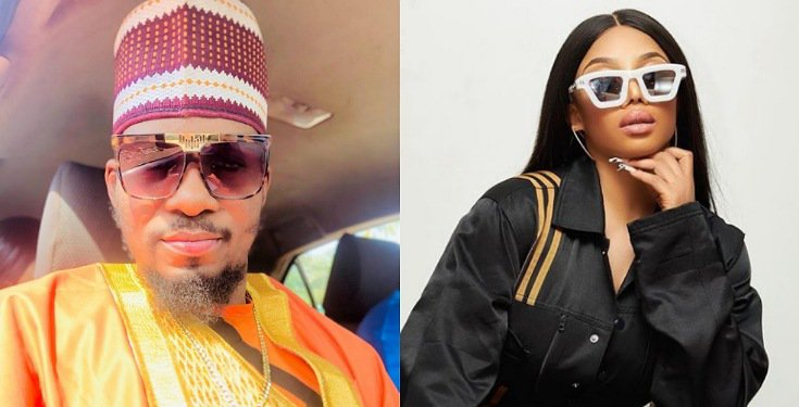 Actor, Jnr Pope reacts to OAP, TokeMakinwa's advice