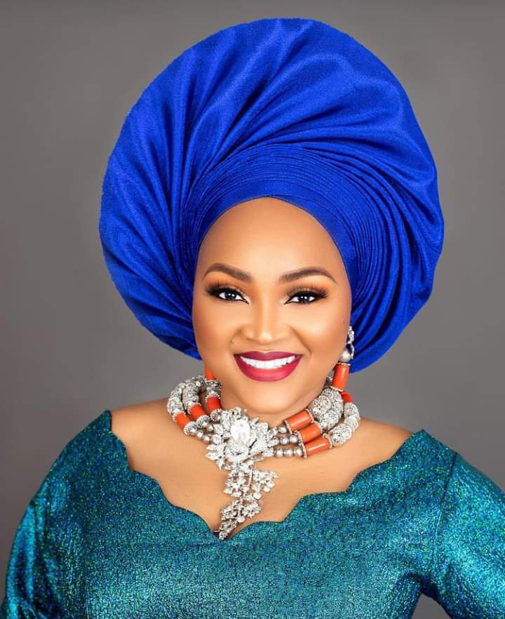 Mercy Aigbe's 43rd birthday