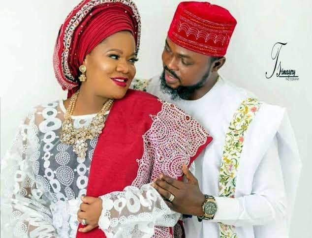 Toyin Abraham celebrates her husband