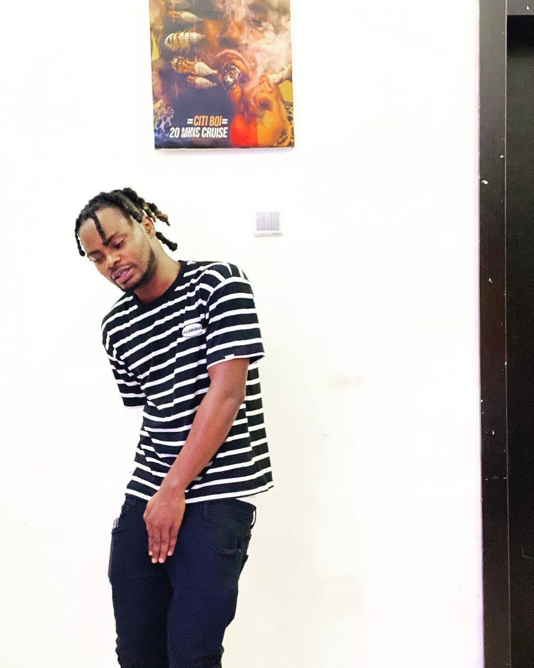 Rapper Oladips grass grace