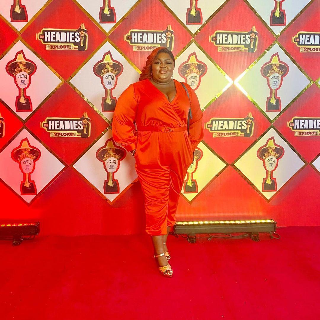 Eniola badmus outfit headies