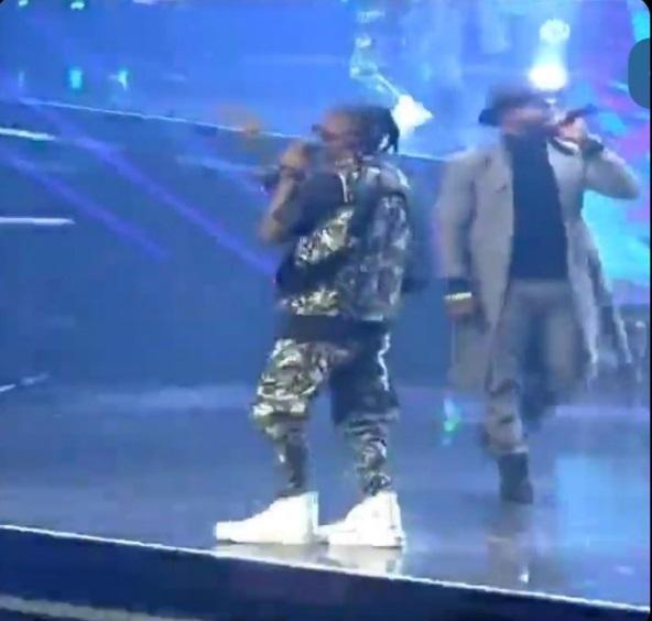Laycon opens up on wearing 'big shoe' to Headies Awards