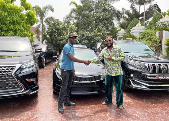 E-Money gifts cars on his birthday