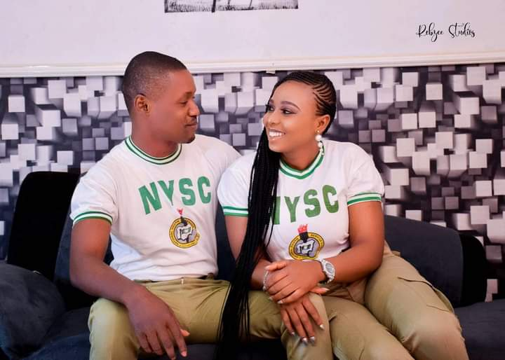 Man engages fellow corps member