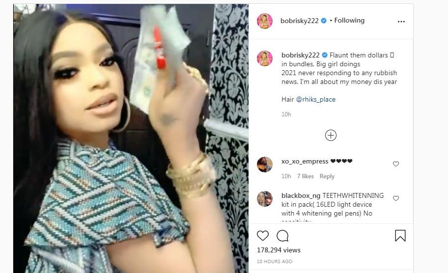 Bobrisky reacts to his alleged his boyfriend