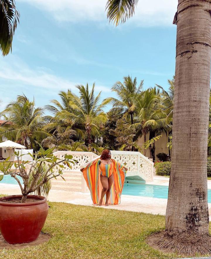 Photos of Dorathy on vacation in Kenya