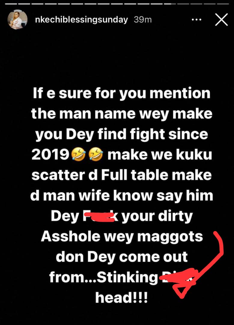 Bobrisky and Nkechi Blessing fight