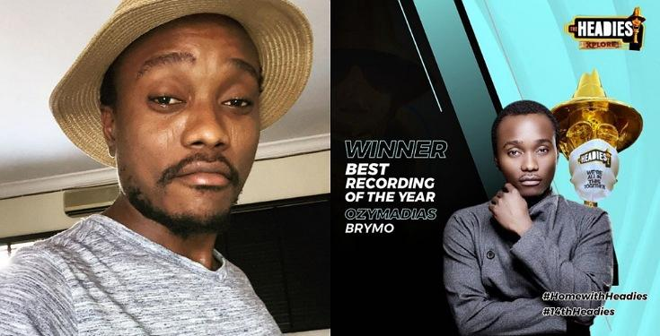 Brymo Wins 'Best Recording Of The Year' Award