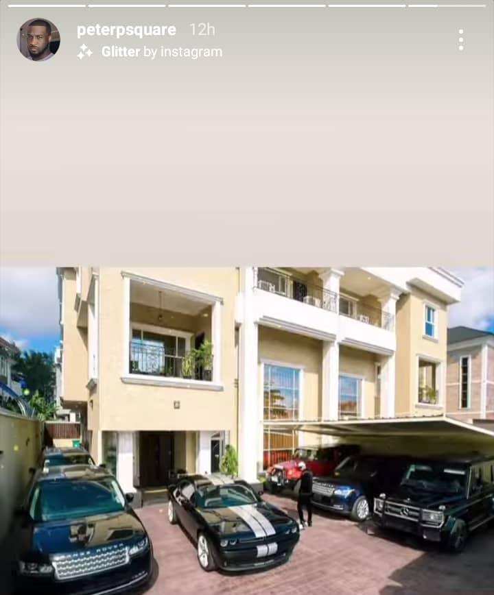Peter Okoye 6 cars