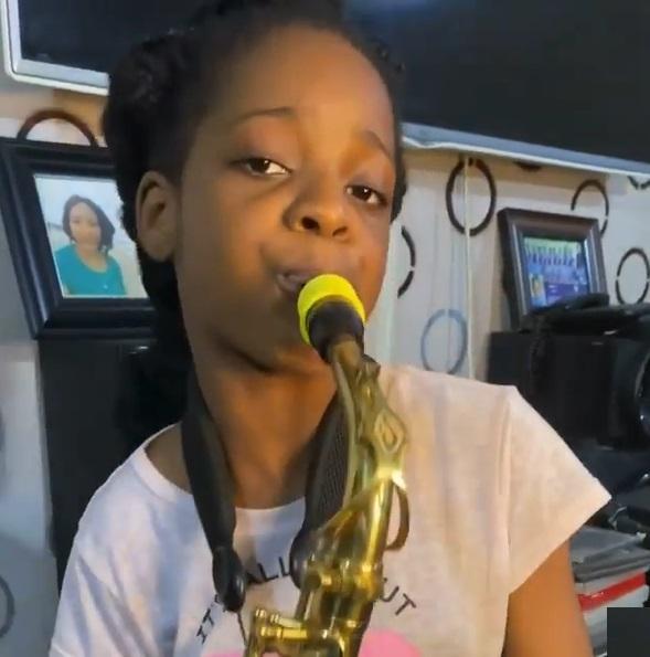 Temilayo Abodunrin saxophonist
