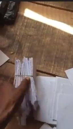 Vendor cries out as N400K cash turns to paper after customer left with 20 bags of rice (Video)