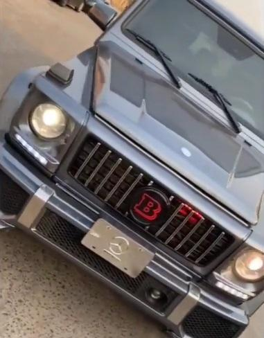 Toyin Abraham acquires brand new Mercedes-Benz G-wagon (Video)