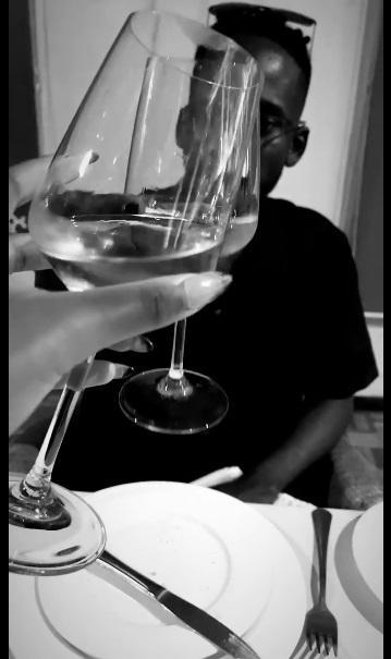 Mr Eazi treats Temi Otedola to surprise dinner in the spirit of Valentine (Video)