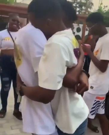 Man in tears as bestie surprises him with a car gift (Video)