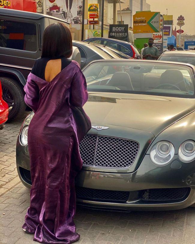 tonto Dikeh acquires brand new Bentley